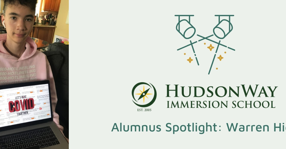 Warren Hicks | HudsonWay Immersion School Alumnus