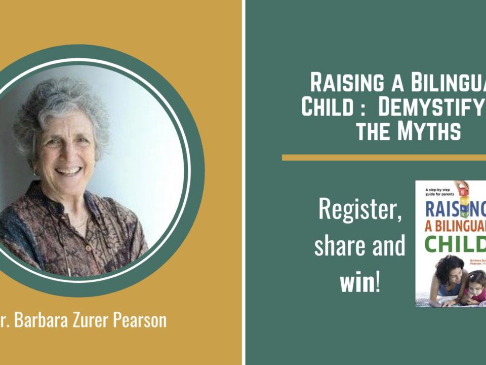 Raising a Bilingual Child Part 1: Demystifying the Myths with Barbara Zurer Pearson | HudsonWay Immersion School