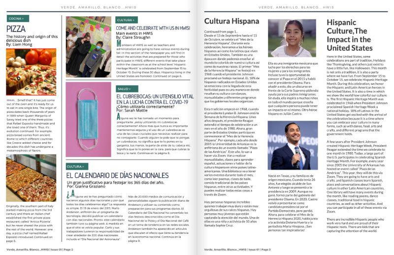 Spanish Newspaper